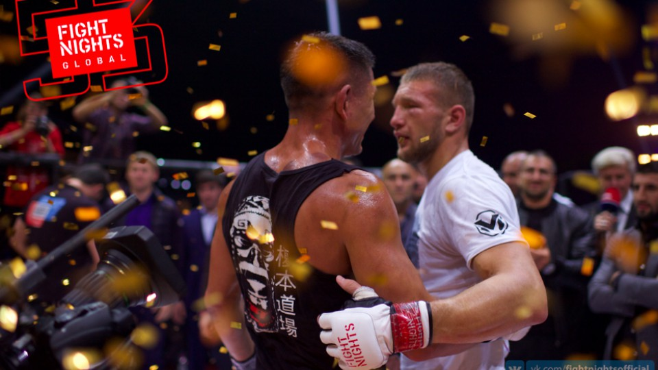Владимир Минеев победил швейцарца Эномото на FIGHT NIGHTS GLOBAL 53 Weekend